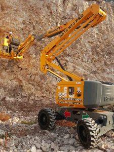 ליפטר במות הרמה לעבודה בשטח בגובה